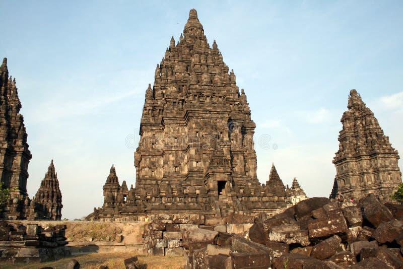 Prambanan fotografia stock libera da diritti