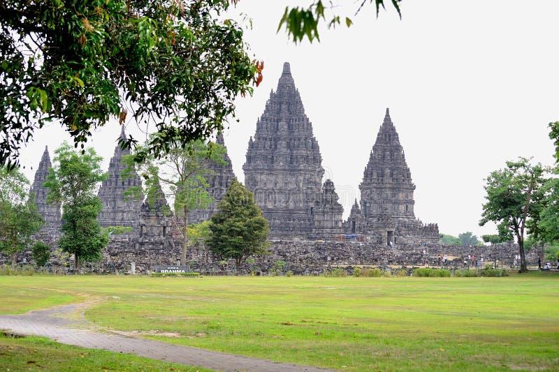 Prambanan fotografía de archivo