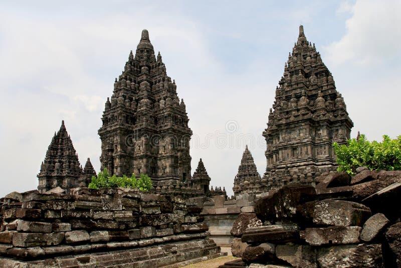 Prambanan imagen de archivo libre de regalías