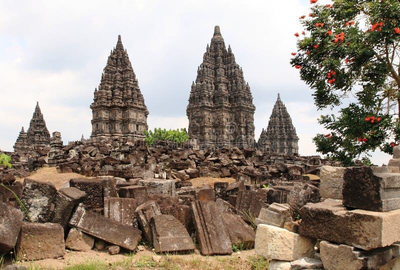 Prambanan стоковое изображение rf