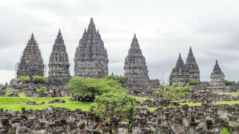 Prambanan en Java imagen de archivo