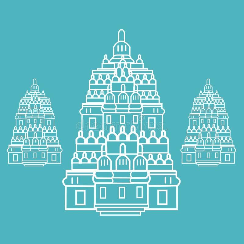 Hindu Temple Architecture Stock Illustrations 1 420 Hindu Temple