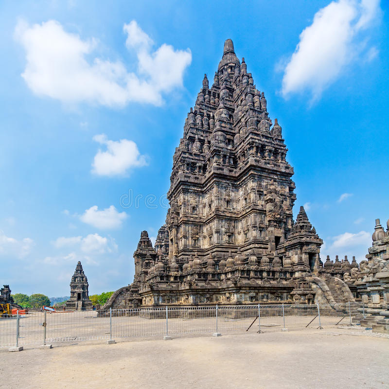 Prambanan Hindu Temple, Java royalty free stock images