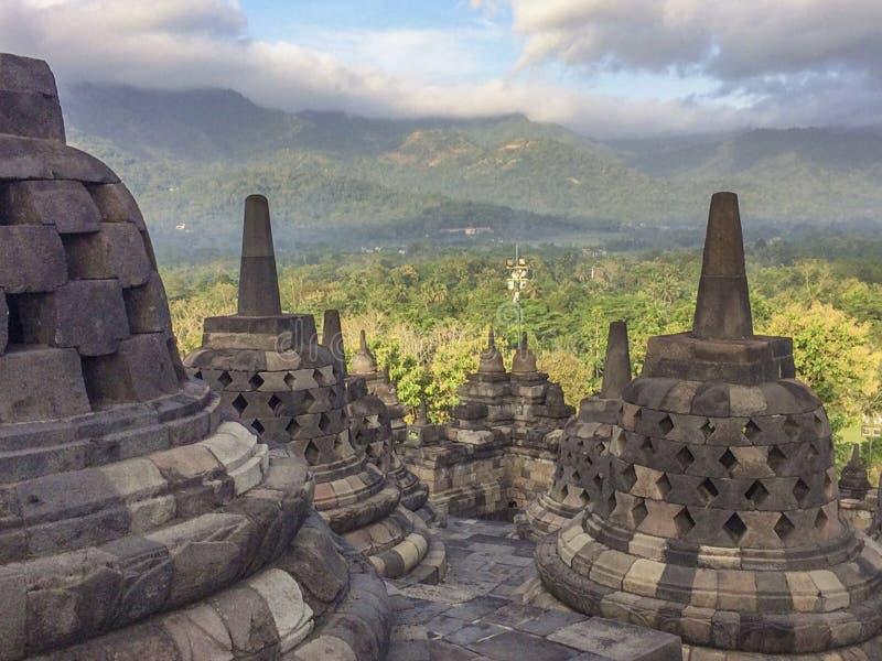 Prambanan o Candi Rara Jonggrang en Java, Indonesia, fotografía de archivo libre de regalías