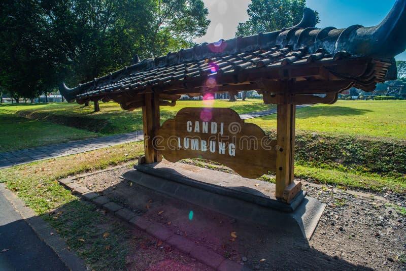 Prambanan oder Candi Rara Jonggrang ist ein Mittel des hindischen Tempels in Java, Indonesien, eingeweiht dem Trimurti: der Schöp stockbild