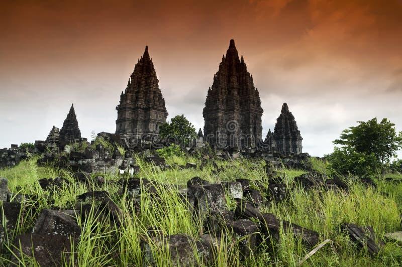 Prambanan ruiny zdjęcia royalty free