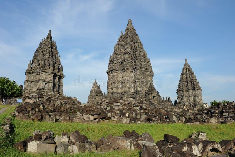 Prambanan Tempel lizenzfreie stockbilder
