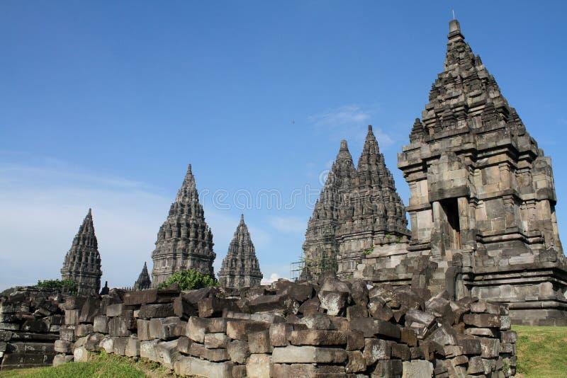 Prambanan Tempel stockfotos