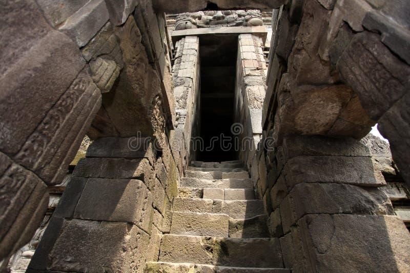 Prambanan tempel nära Yogyakarta arkivbilder