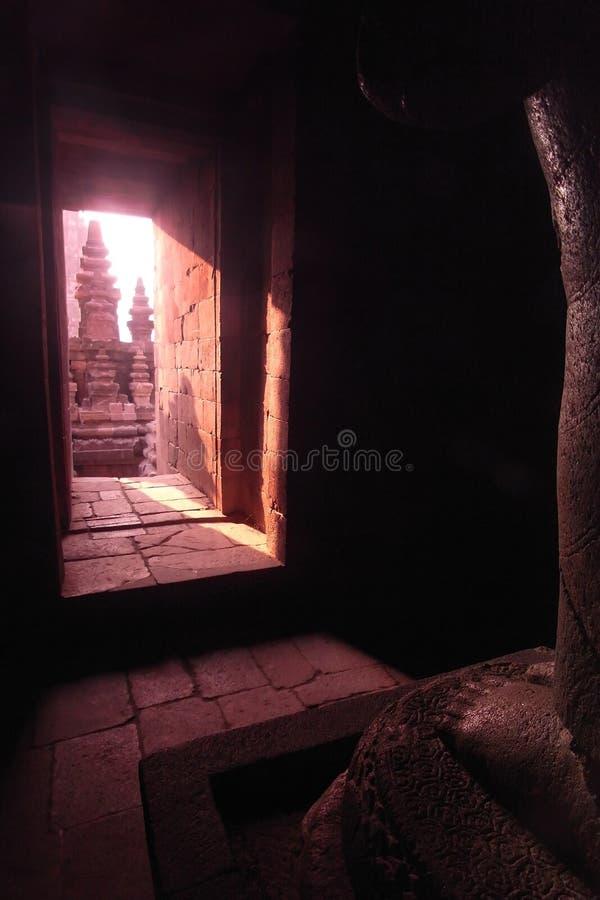 Prambanan Temple Chamber, Java, Indonesia stock photo