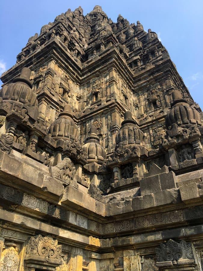 Prambanan temple stock photos