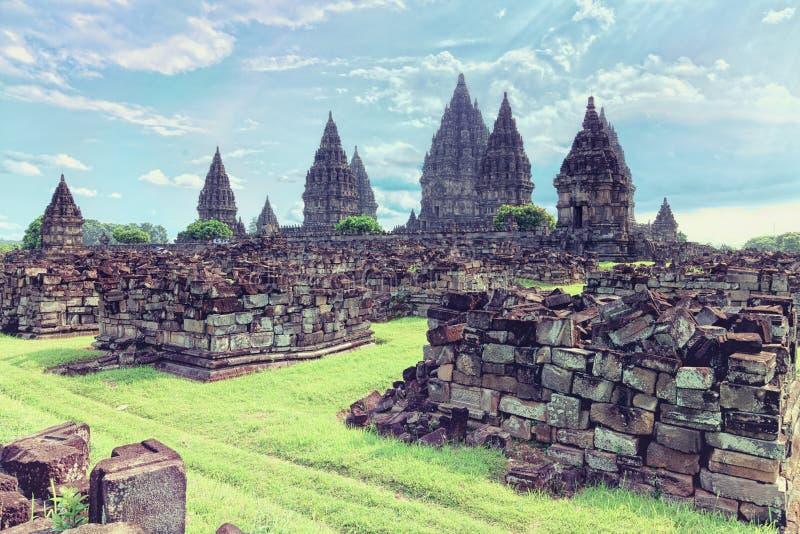 Prambanan temple royalty free stock image