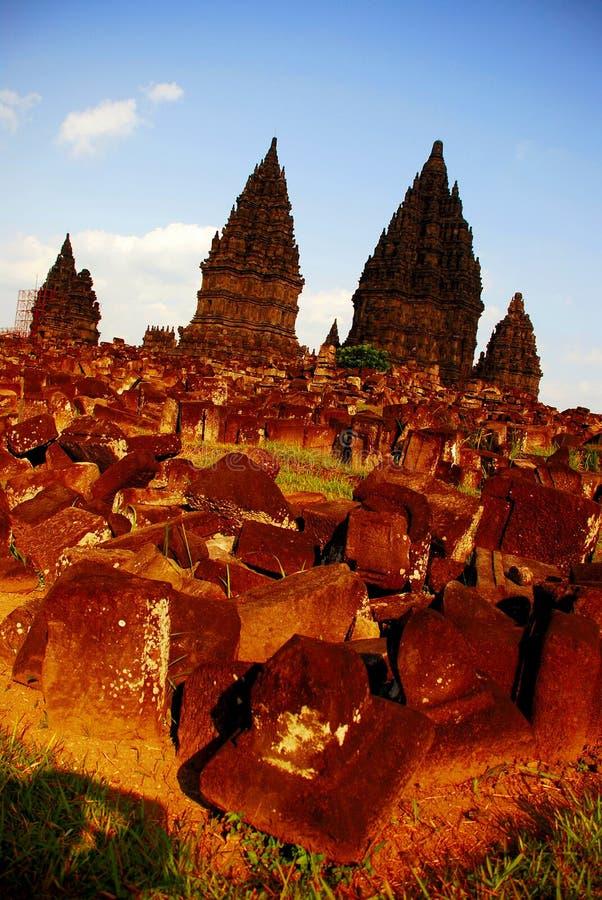 Prambanan Temple Yogyakarta stock image