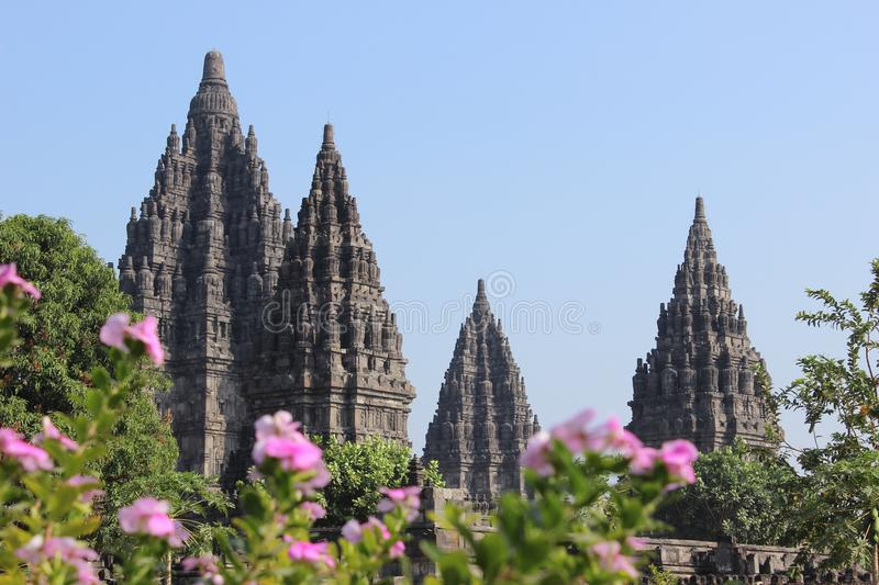 Prambanan, Wonderful Temple Travel Destination in Jogja Indonesia. Prambanan, Wonderful Temple Travel Destination in sleman Jogja Indonesia royalty free stock photo