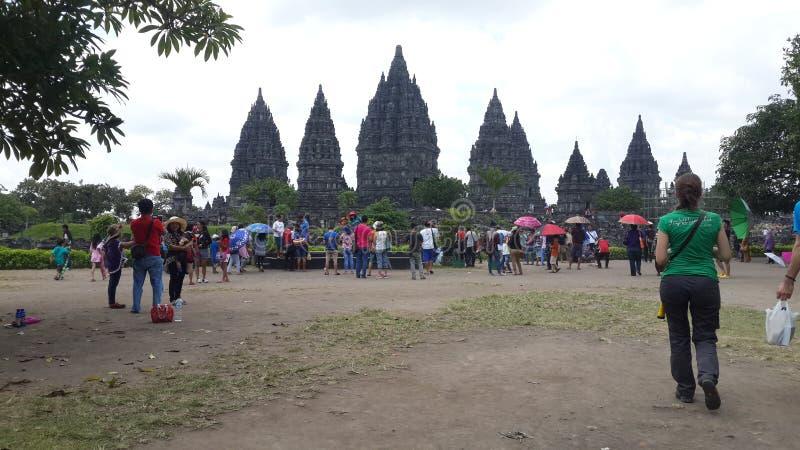 Prambanan yogyakarta Индонезия стоковые фото