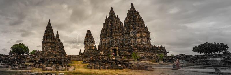 Prambanan, Yogyakarta, Ява, Индонезия стоковая фотография rf