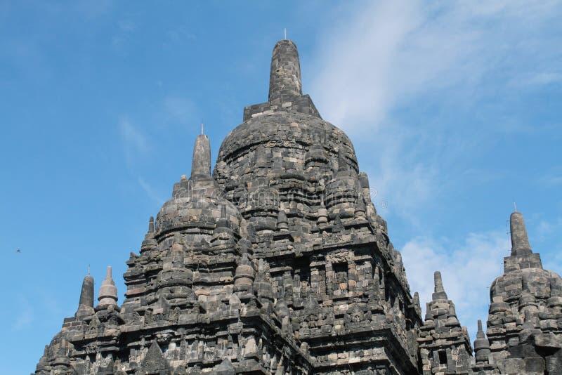 Prambanantempel dichtbij Yogyakarta stock afbeeldingen