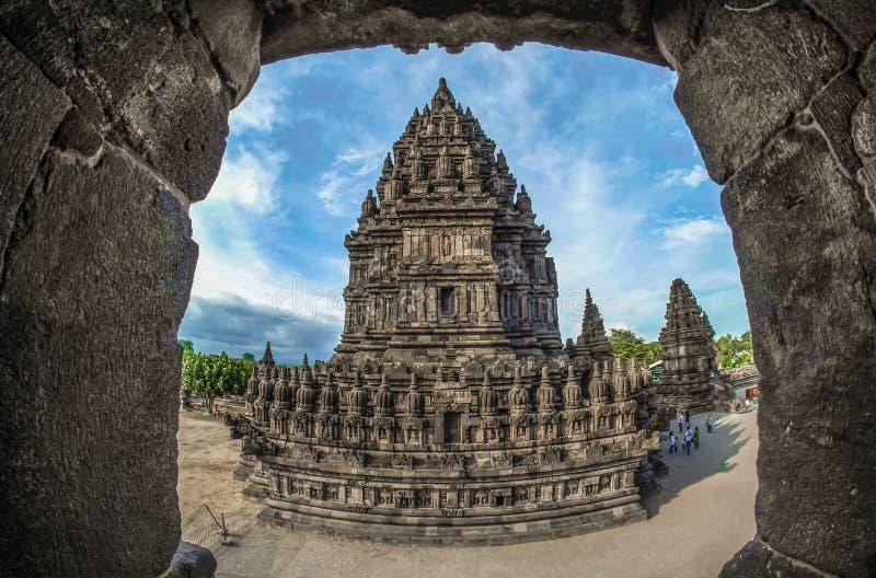 Prambanantempel van Indonesië stock fotografie