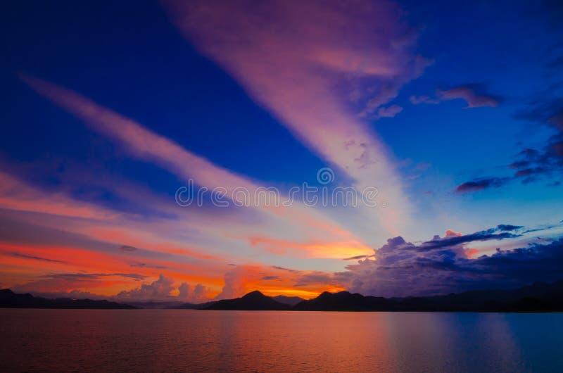 Pranburi Dam Thailand Stock Photo