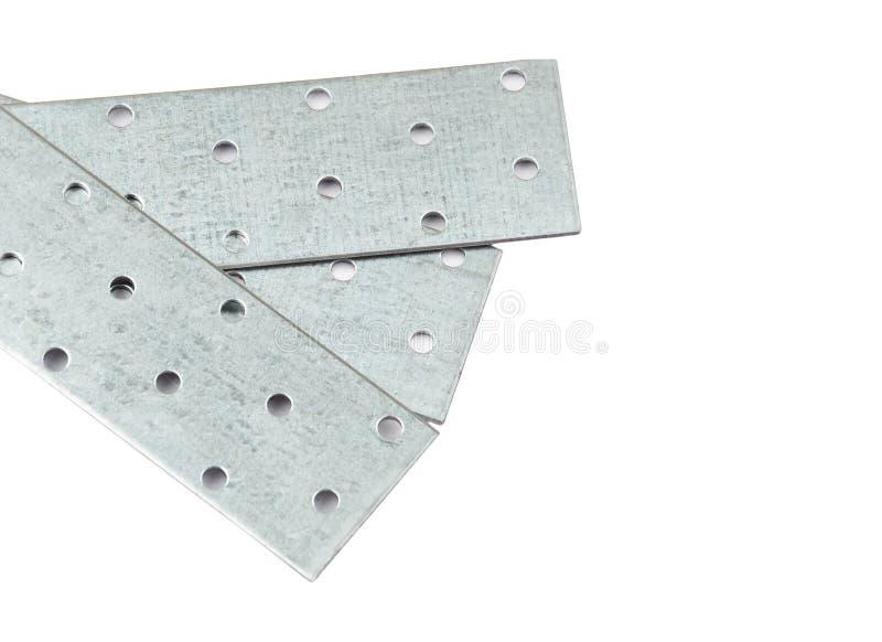 Prancha de aço perfurada fotografia de stock