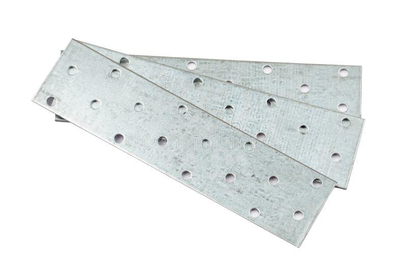 Prancha de aço perfurada foto de stock