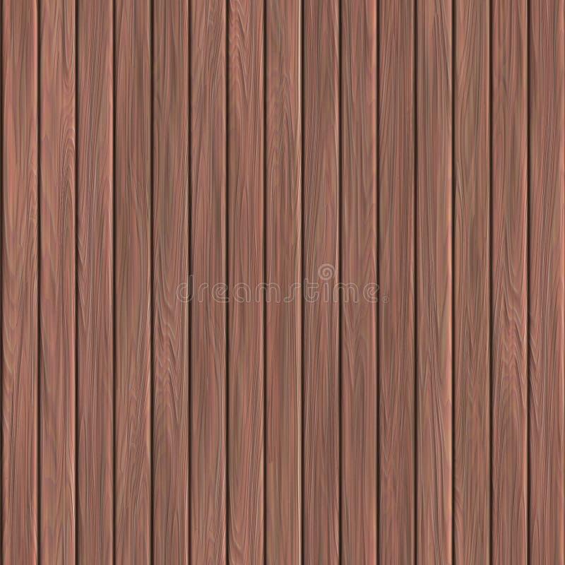 Prancha de madeira ilustração royalty free