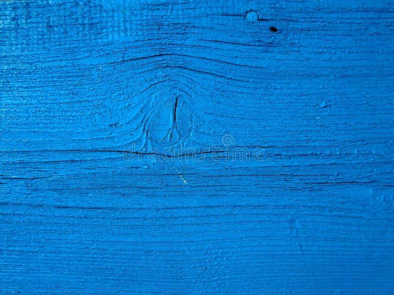 Prancha de madeira azul foto de stock royalty free