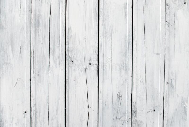 Prancha de madeira branca resistida imagens de stock