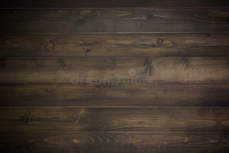 Prancha de madeira escura fotografia de stock
