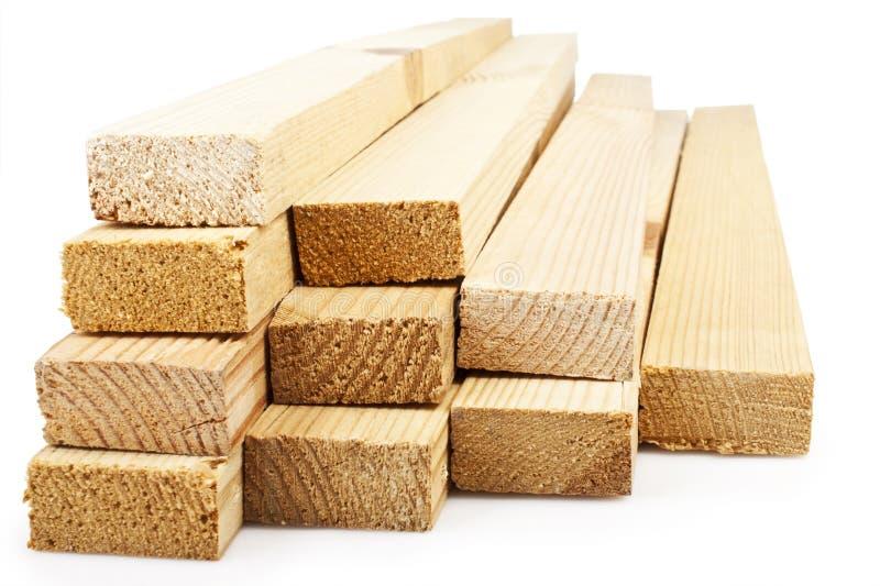 Pranchas de madeira imagens de stock