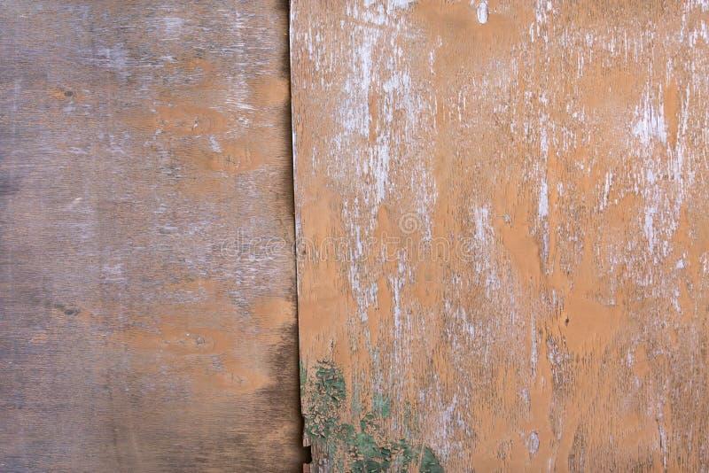 Pranchas de madeira do fundo da casa velha, madeira tratada velha imagem de stock royalty free