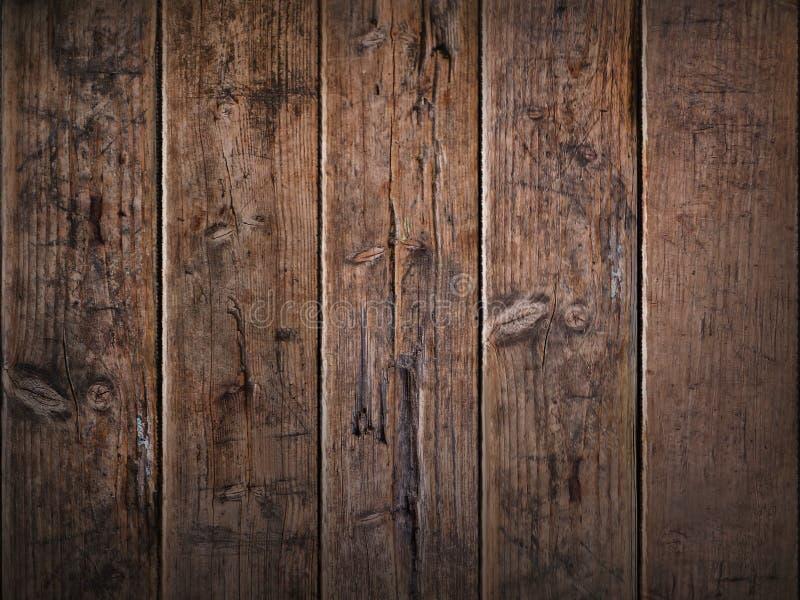 Pranchas de madeira escuras com estrutura imagem de stock royalty free