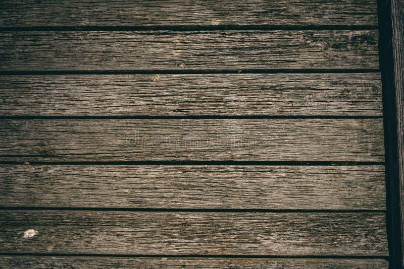 Pranchas de madeira rústicas no cais velho imagem de stock royalty free