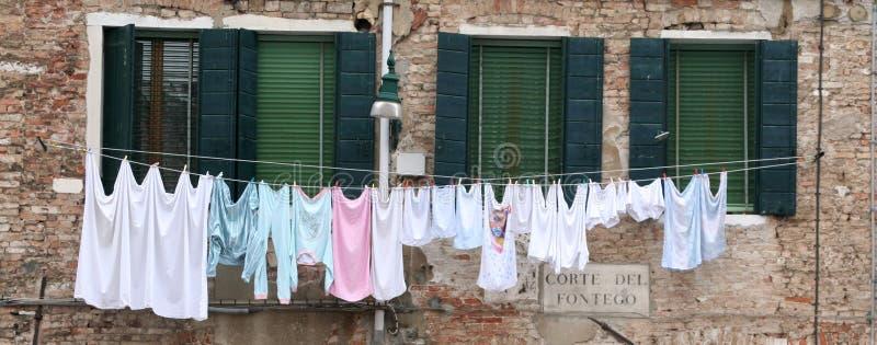 pranie Wenecji obraz stock