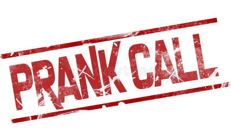 PRANK CALL stock illustration  Illustration of fake, icon - 86667758