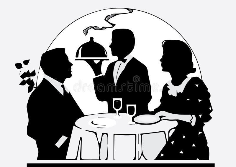 Pranzi Per Due, Fotografia Stock