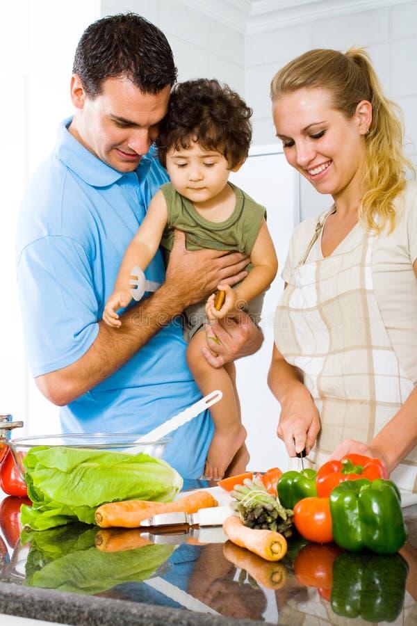 Pranzo della famiglia immagini stock libere da diritti