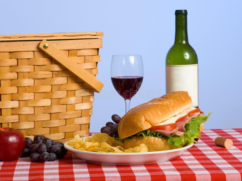 Pranzo di picnic immagini stock libere da diritti