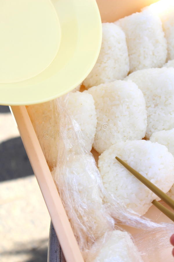 Pranzo in Kamagowa, Giappone immagine stock libera da diritti