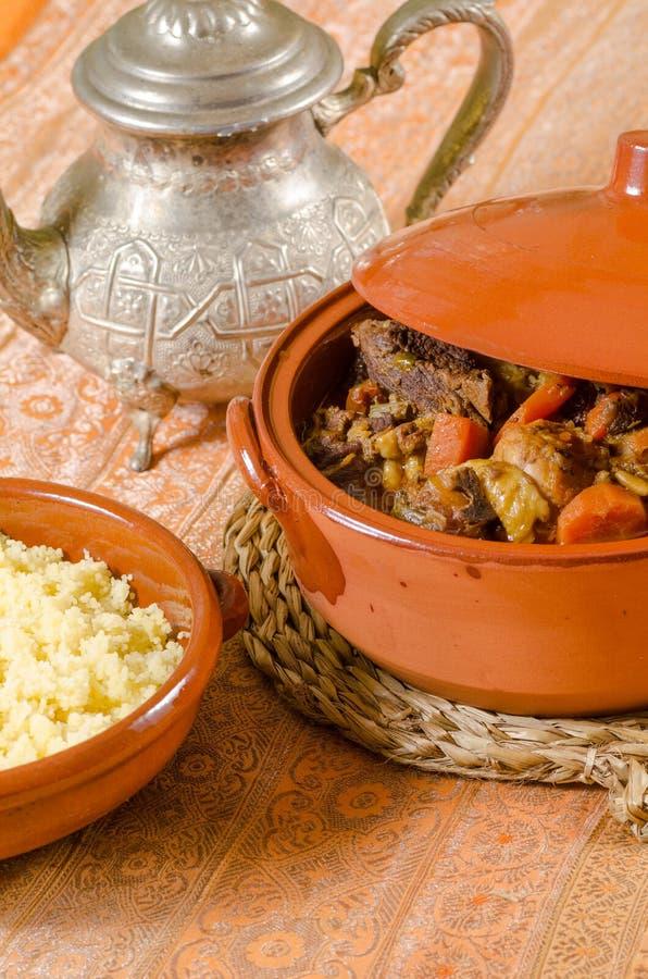 Vita Marocchina Dello Stil Dell'alimento Immagine Stock ...