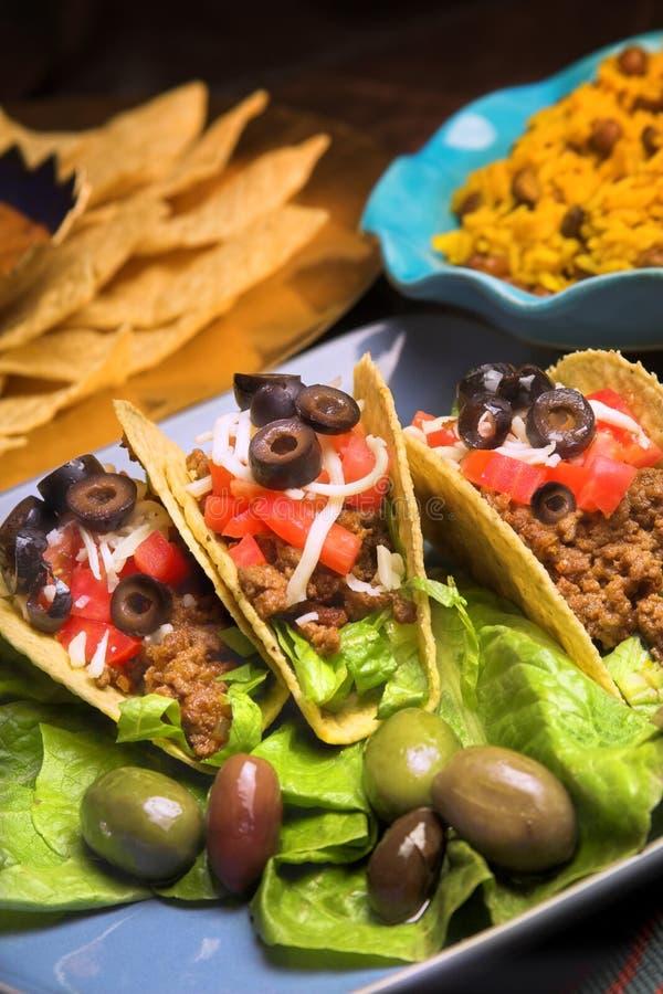 Pranzo messicano immagini stock
