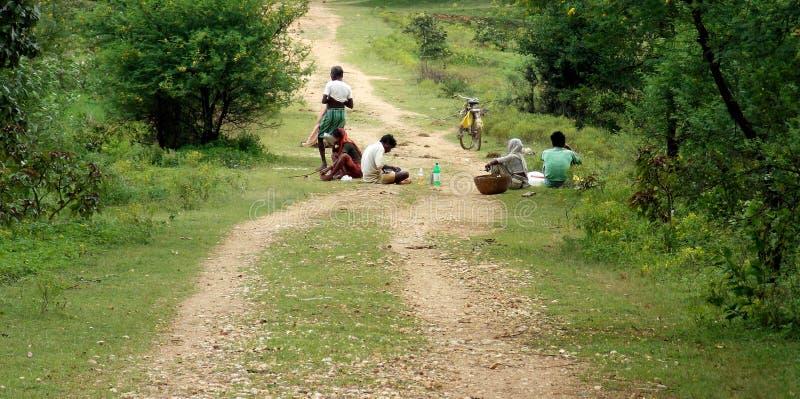 Pranzo rurale fotografie stock libere da diritti