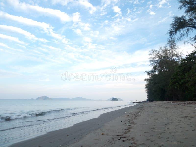 Praphat beach royalty free stock photo