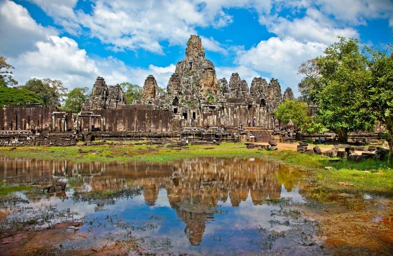 Prasat Bayon Temple in Angkor Thom, Cambodia. Prasat Bayon Temple in Angkor Thom, near Siem Reap, Cambodia royalty free stock image
