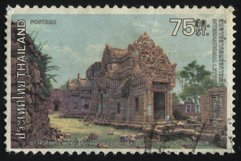 Prasat Hin Khao Phanomrung imagem de stock