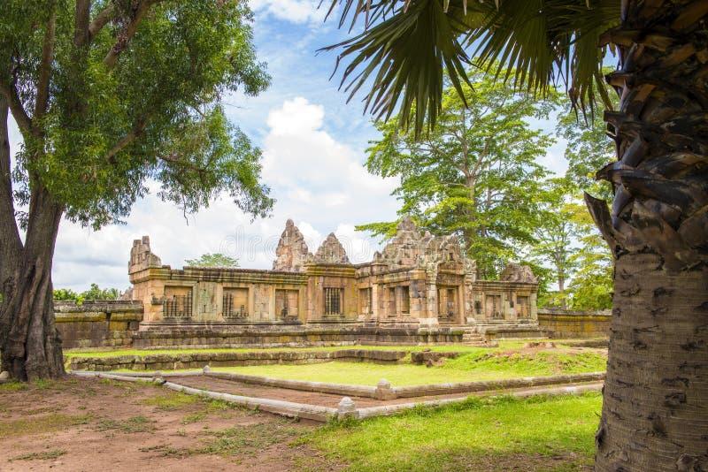 Prasat Hin Muang Tam (Thai name), The stone castle Muang Tam at thailand. stock photo