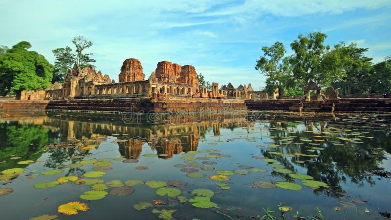 Prasat Hin Mueang Tama Buri baran Tajlandia obraz royalty free