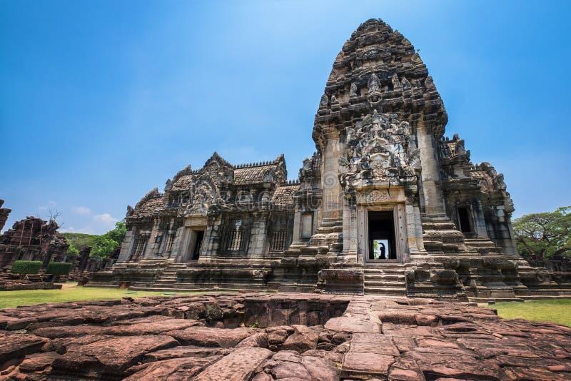 Prasat Hin Phimai i Nakhon Ratchasima, Thailand royaltyfria bilder