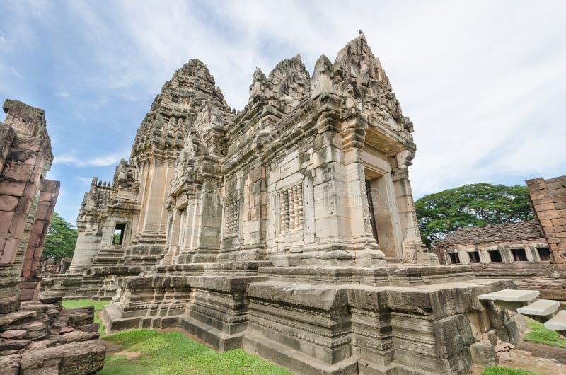 Prasat Hin Phimai (parque histórico de Phimai) foto de archivo libre de regalías
