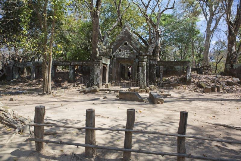 Prasat Krachap Prasat Kra Chap ruin, Koh Ker temple complex, Cambodia stock photo